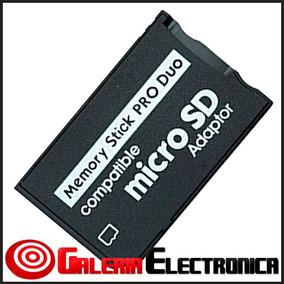 Adaptador Micro Sd A Memory Stick Pro Duo Psp Y Camaras Oem