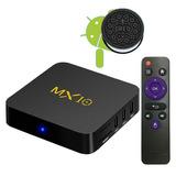 Tv Box Mx10 4gb/32 Gb Nuevo Android Oreo 8.1 Usb 3.0 Potente