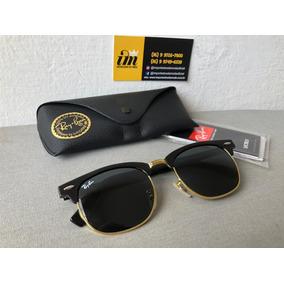 f73c2511f5db9 51 Polarizado Ray Ban Clubmaster Aluminum Rb3507 De Sol - Óculos no ...