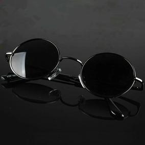 0bde0a6c94900 Óculos De Sol Redondo Estilo Ozzy Jonh Lennom 5,5cm Lindo.