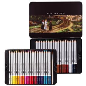 Deli 6518 24 Colores Color Soluble Tin Box Color 48