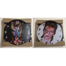 Relogio Parede Mdf 30cm Bandas Rock Pop Beatles Kiss Escolha