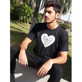 Camiseta Gospel - Ele Nos Amou Primeiro!