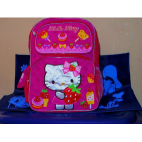 Mochila Escolar De Hello Kitty