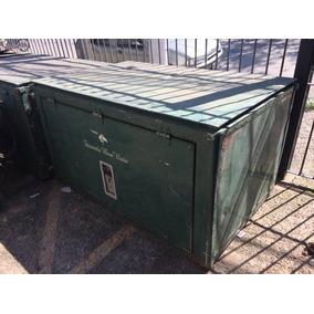 Bau /container De Alumínio Carretinha Antiga Zn Sp Limao