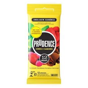 Preservativo Prudence Mista Com 12 Unidades