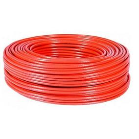 Rollo Cable Eléctrico Cal 14 Thw 100 Metros Rojo Regalalo