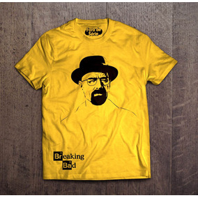 Camisa Breaking Bad Walter W - Fora De Série