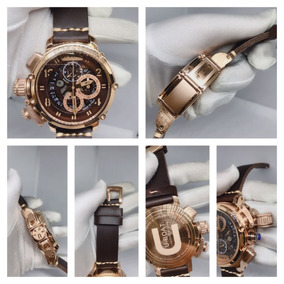 4d77c8c2c58 Relógio Luxo U Boat U 1001 Italo Fontana Réplica Seminova - Relógios ...