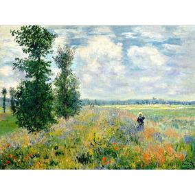 Poster 65x100cm Paisagem Claude Monet - Para Decorar Casa
