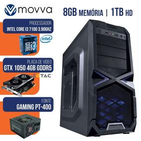 Cpu Gamer Intel I3 7100 3.9ghz Mem 8gb Hd 1tb Gtx-1050 4gb