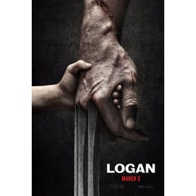 Poster Cartaz Logan Wolverine X-men #b - 30x42cm