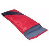 Saco De Dormir Vermelho Camping Nautika Liberty 4ºc A 10ºc
