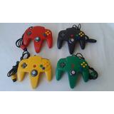 Controles De Nintendo 64 Originales 100% Funcionales