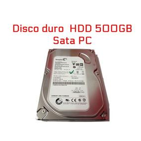 Disco Duro 500gb Sata 3.5 Para Pc Dvr