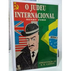 O Judeu Internacional - Henry Ford - Obra Rara - Original