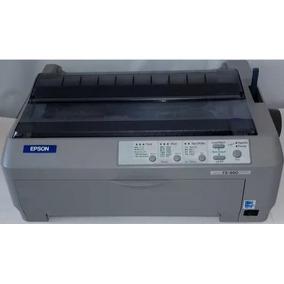 Impressora Matricial Epson Fx-890 Fx 890 Fx890 Cinza Claro !