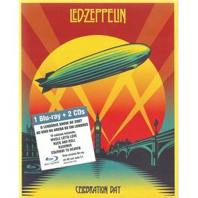 Led Zeppelin Celebration Day - 1 Blu-ray + 2 Cd´s