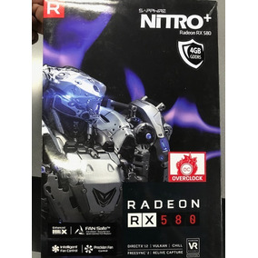 Targetas De Video Nitro + Rx580 4gb Gddr5