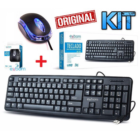 Kit Teclado + Mouse Óptico Usb Pc Computador Original Gamer