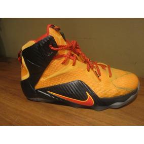Nike Lebron Xii Witness Talla 4.5 Mx, Envio Gratis