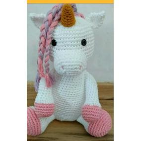 Touca De Croche Unicornios Toucas Menina - Acessórios da Moda no ... bef95b54286