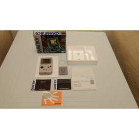 Gameboy Na Caixa Com Todos Os Manuais Frete Gratis 12x S/j