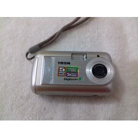 Câmera Digital Tron Digitron S5 5mp Usada Com Kit