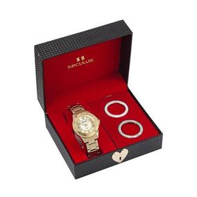 0f350ae2ab9 Relogio Troca Aro Feminino Com - Relógios no Mercado Livre Brasil