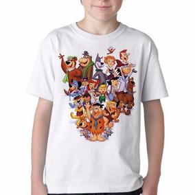 Camiseta Blusa Infantil Personagens Hanna Barbera Tamanho db416fa3e3e4b