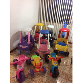 Carritos Little Tikes,2 Triciclo Fisher-price, 2 Setp Cozy