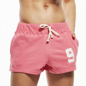 Gym Shorts Pants Cortos Bermudas Deportivos Algodon Hombre