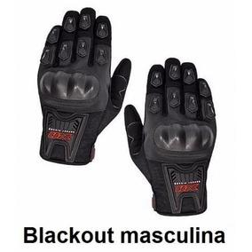 Luva Motociclista Motoqueiro Ciclista X11 Blackout Masc/fem