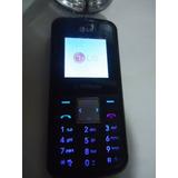Celular Lg-kp106b Op Tim Funcionando Sem Carregador N0045