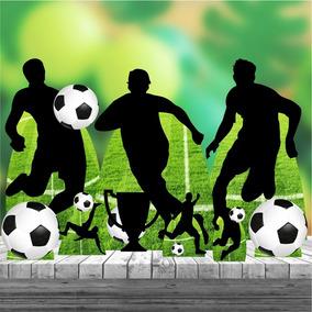 Kit 9 Festa Completo Totem Display Futebol Bola Jogador 88cm ababd607b1bf0