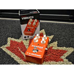 Pedal Tc Eletronic Shaker Vibrato Novo + Nf E Garantia!