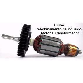 Curso Enrolamento Rebobinagem De Motor Elétrico Vídeo 13 Dvd