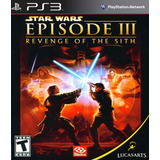 Star Wars Episode 3 Revenge Of The Sith Ps3 Digital Gcp