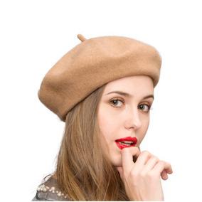 Klong Lana Boina Sombrero Estilo Francés Mujeres Color Só 730b0caeac5