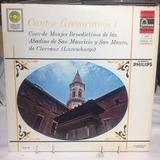 Cantos Gregorianos 1 - Coro De Monjes Benedictinos - Acetato