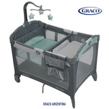 Practicuna Graco Cuna Bebe Plegable Change And Carry Manor