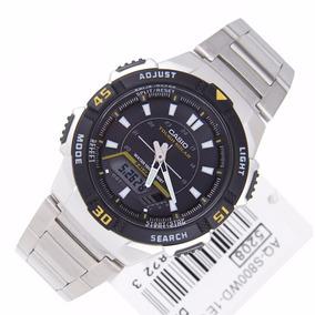 735087e8254 Caixa De Relogio Casio Aq - Relógios De Pulso no Mercado Livre Brasil