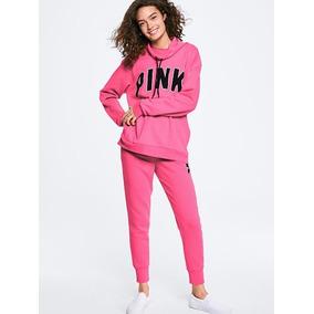 Sudadera Pink Campus Cowl Neck By Victoria´s Secret