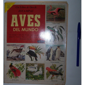 Aves Mundo Libro Estampas Album N 23 Ed Novaro 1959