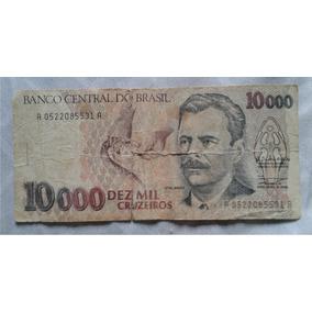 1 Cédula Dez Mil Cruzeiros
