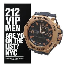 Relógio Masculino Gshock Kit Perfume Contratipo Estojo Cg26