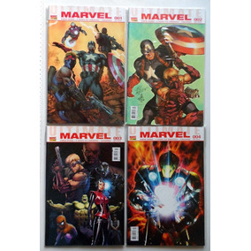 10 Revistas Panini Ultimate Marvel - 2010 / 2011 - 1 A 10