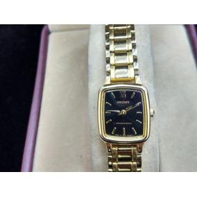Reloj Dama Orient Caratula Negra