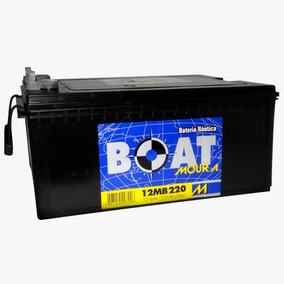 Bateria Moura Boat 220ah Especial Para Barcos E Lanchas
