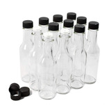 Nicebottles - Botellas Salsa Picante, 5 Oz - 12 Paquete